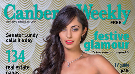 canberra weekly cover photo sayana