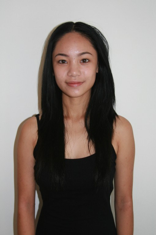 Sophie head polaroid
