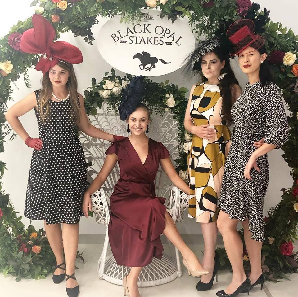 Black Opal Stakes cocktail party