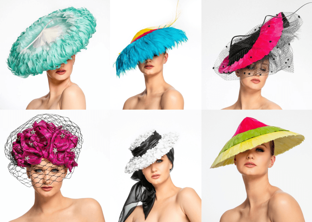 Cynthia Jones-Bryson Millinery photoshoot