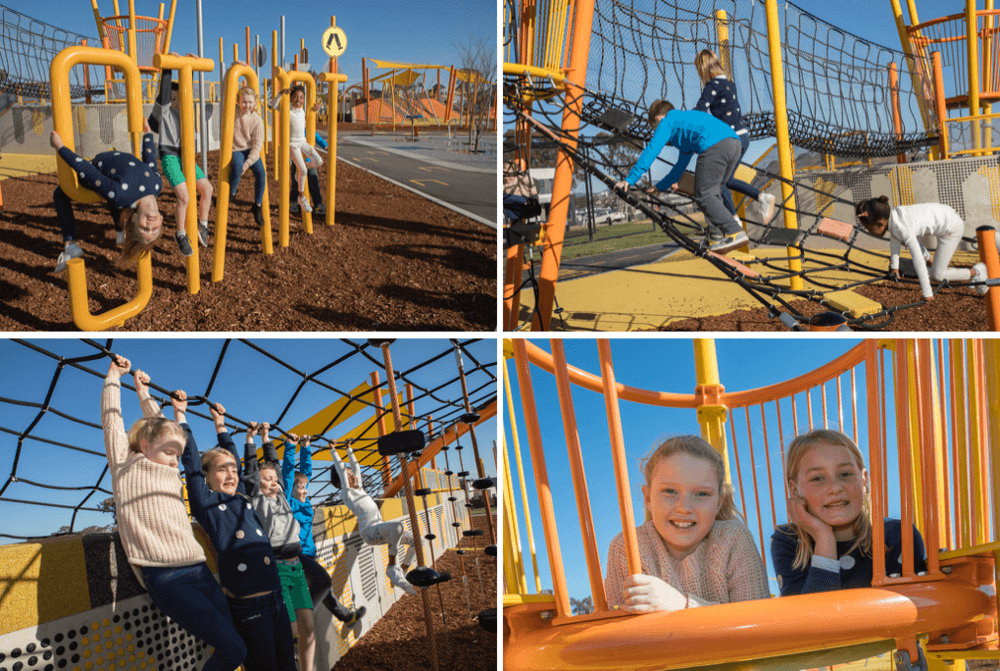 Kompan playground photoshoot