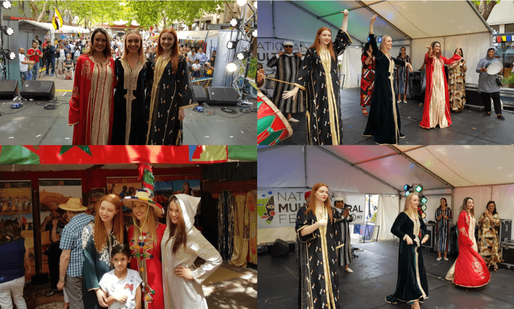 Moroccan Embassy Fashion parade