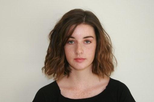 Erin head polaroid